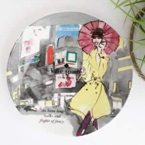 SALE! NWOB KATE SPADE DECORATED PLATE
